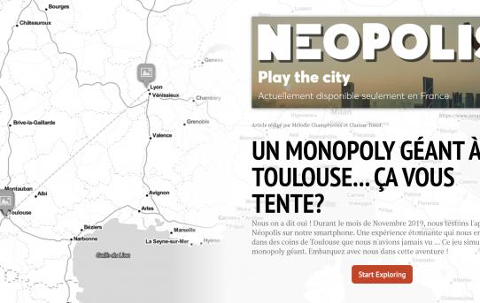 Un monopoly géant à Toulouse... ça vous tente?