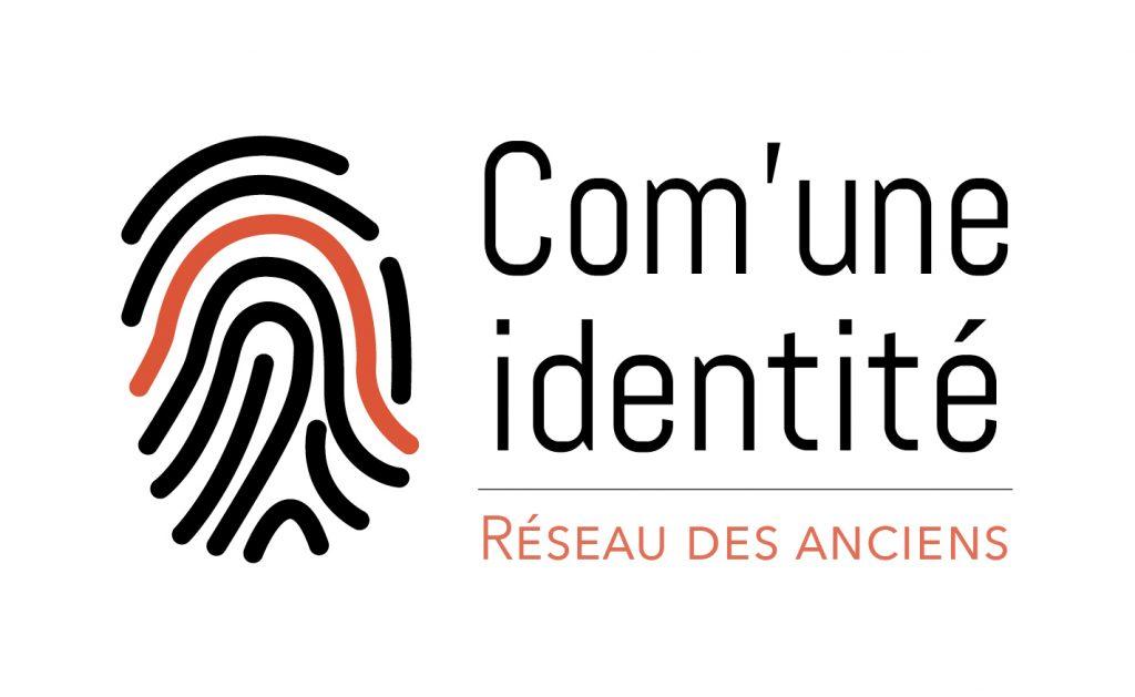 Logo de l'association Com'une identité du réseau des anciens étudiants.